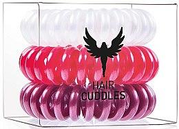 Profumi e cosmetici Elastico per capelli - HH Simonsen Hair Cuddles Red, Dark Red, Pearl