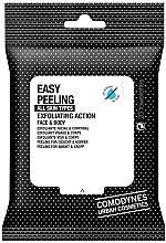 Profumi e cosmetici Salviette peeling per viso e corpo - Comodynes Easy Peeling Exfoliating Action Face and Body