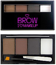 Profumi e cosmetici Set pe le sopracciglia - I Heart Revolution Brows Kit