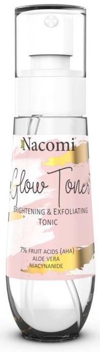 Tonico viso illuminante - Nacomi Glow Brightening & Exfoliating Tonic