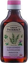 Profumi e cosmetici Olio di bardana con estratto di equiseto contro la caduta dei capelli - Green Pharmacy