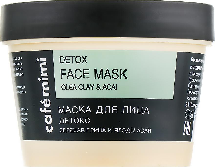 "Maschera viso ""Detox"" - Cafe Mimi Face Mask"