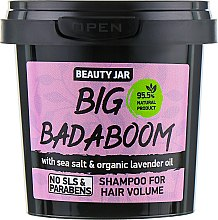 "Profumi e cosmetici Shampoo volumizzante ""Big Badaboom"" - Beauty Jar Shampoo For Hair Volume"