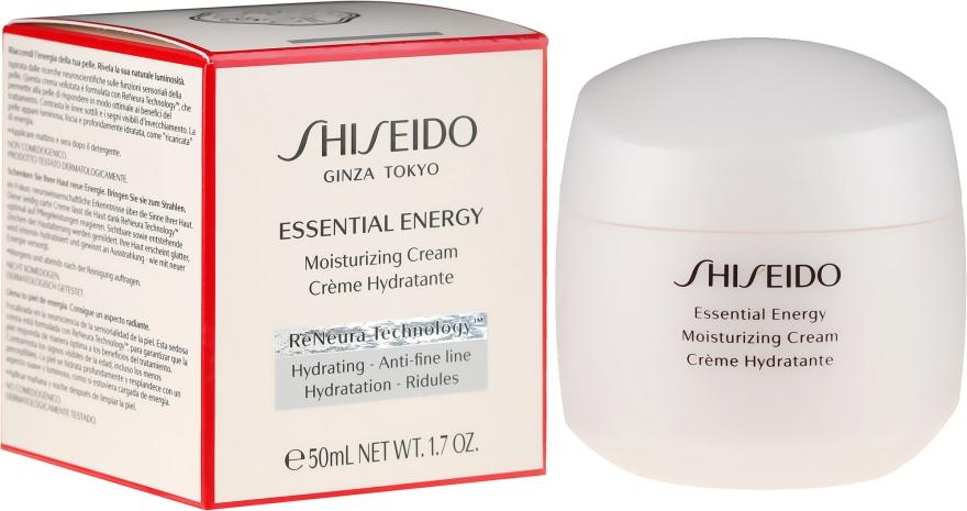 Crema viso idratante - Shiseido Essential Energy Moisturizing Cream — foto N1