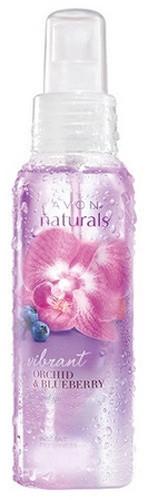 """Lozione-spray corpo """"Rinfrescante con vitamine C ed E. Affascinanti orchidee e mirtilli"""" - Avon Naturals"""
