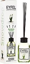 """Profumi e cosmetici Diffusore aromatico """"Mughetto"""" - Eyfel Perfume Reed Diffuser Snowdrop"""