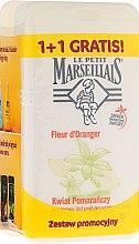 "Profumi e cosmetici Set ""Fiore d'arancio"" - Le Petit Marseillais (sh/gel/250ml + sh/gel/250ml)"