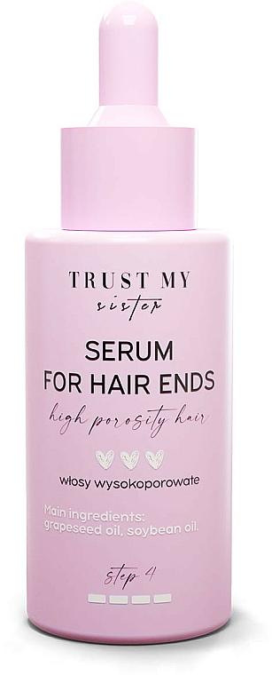 Siero capelli ad alta porosità - Trust My Sister High Porosity Hair Serum For Hair Ends — foto N1