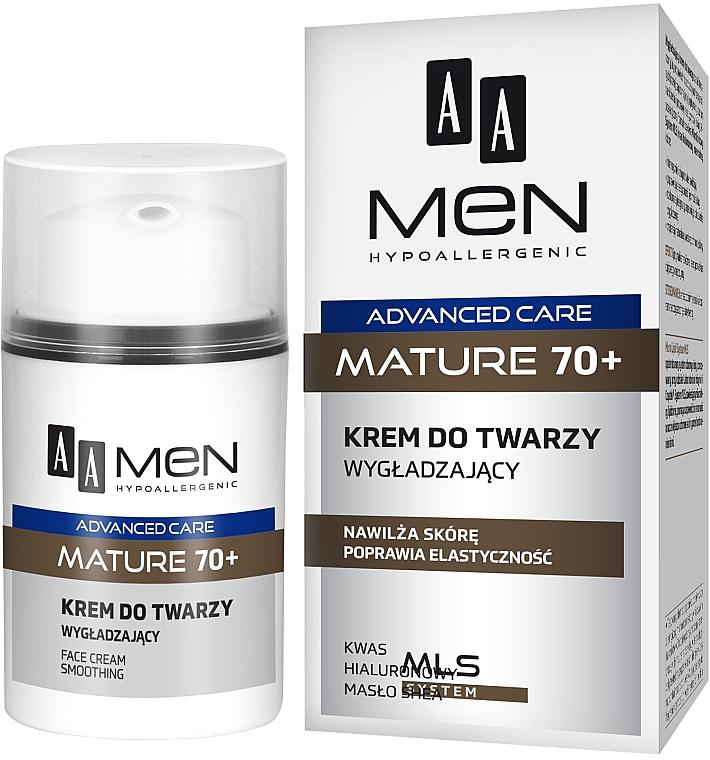 Crema viso levigante - AA Men Care Mature 70+ Face Cream — foto N1