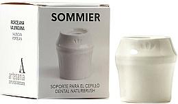 Profumi e cosmetici Portaspazzolino, bianco - NaturBrush Sommier Toothbrush Holder