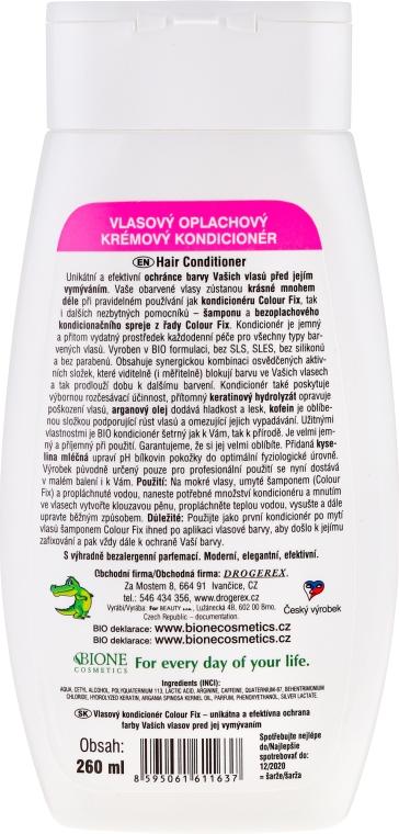 Condizionante capelli - Bione Cosmetics Colour Fix Hair Cream Conditioner — foto N2