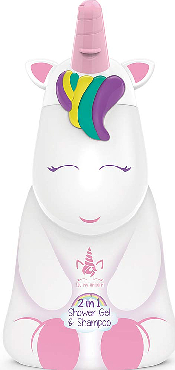 "Gel doccia shampoo ""Unicorno"" - Air-Val International Eau My Unicorn Shower Gel & Shampoo"