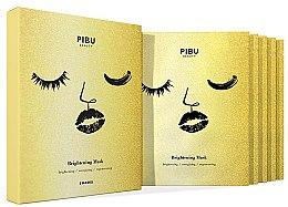 Profumi e cosmetici Set - Pibu Beauty Brightening Mask Set (f/mask/5x29ml)