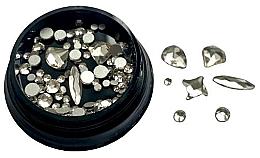 Profumi e cosmetici Strass per unghie, argento - Deni Carte