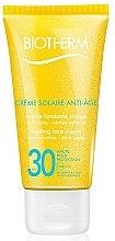 Profumi e cosmetici Protezione solare viso con effetto anti-età - Biotherm Sun Protection Creme Solaire Anti-age SPF 30