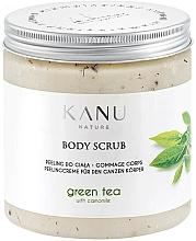 """Profumi e cosmetici Scrub corpo """"Tè verde"""" - Kanu Nature Green Tea Body Scrub"""
