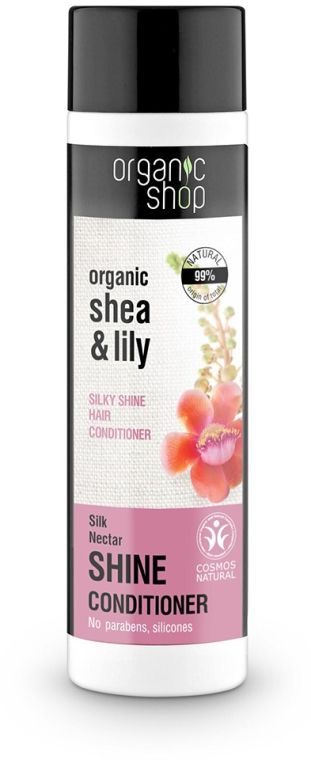 Condizionante capelli - Organic Shop Organic Shea and Silk Shine Conditioner