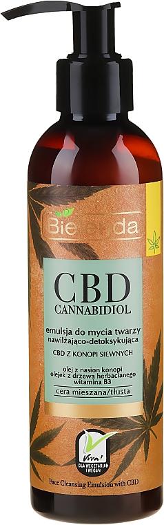 Emulsione detergente per viso - Bielenda CBD Cannabidiol Emulse