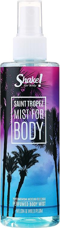 Shake for Body Perfumed Body Mist Saint Tropez Melon & Wild Plum - Spray corpo profumato