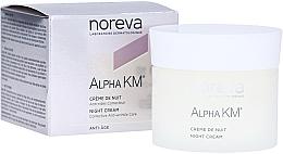 Profumi e cosmetici Crema notte antirughe - Noreva Laboratoires Alpha KM Night Cream Corrective Anti-Wrinkle Care