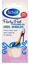 Profumi e cosmetici Cuscinetti di gel per lo sfondo delle scarpe - Scholl Party Feet Invisible Gel Shields Back of Heels