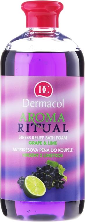"""Bagnoschiuma """"Uva e Lime"""" - Dermacol Aroma Ritual Bath Foam Grape & Lime"""