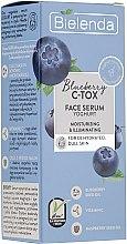 Profumi e cosmetici Siero di yogurt viso disidratato e opaco - Bielenda Blueberry C-Tox Face Yogurt Serum