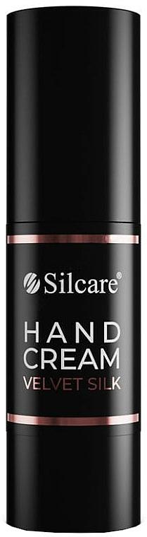 Crema mani - Silcare So Rose Gold Velvet Silk Hand Cream — foto N1