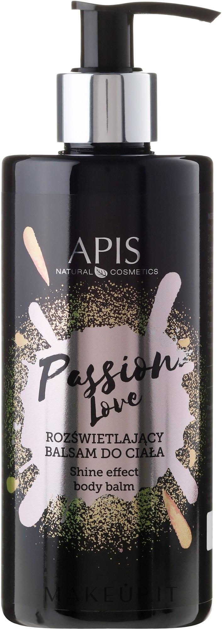 Balsamo corpo schiarente - APIS Professional Passion Love Body Balm — foto 300 ml