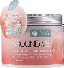 Profumi e cosmetici Crema-smoothie corpo - Welcos Around Me Natural Body Smoothie Cream Peach