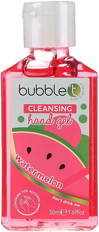 "Gel detergente antibatterico ""Anguria"" - Bubble T Watermelon Hand Cleansing Gel"