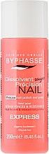 Profumi e cosmetici Solvente per smalto - Byphasse Nail Polish Remover Express