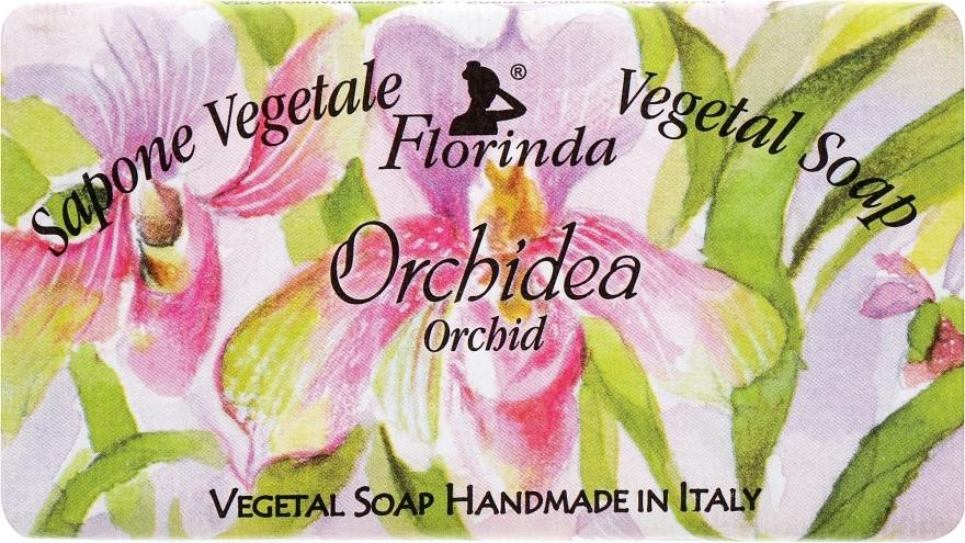 "Sapone naturale ""Orhidea"" - Florinda Sapone Vegetale Vegetal Soap Orchid"