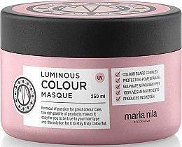 Profumi e cosmetici Maschera per capelli colorati - Maria Nila Luminous Color Masque