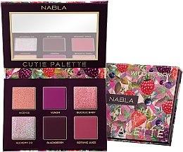 Profumi e cosmetici Palette di ombretti - Nabla Cutie Collection Palette Wild Berry
