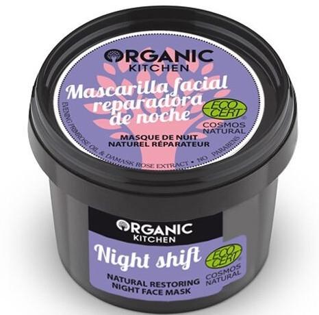 "Maschera viso rigenerante naturale ""Night Shift"" - Organic Shop Organic Kitchen Fase Mask"