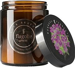 "Profumi e cosmetici Candela profumata in barattolo ""Verbena"" - Flagolie Fragranced Candle Verbena"