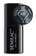 "Profumi e cosmetici Smalto ibrido ""Cat Eye"" - Semilac UV Hybrid Cat Eye"