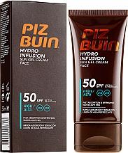 Profumi e cosmetici Gel solare viso - Piz Buin Hydro Infusion SPF 50