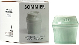 Profumi e cosmetici Portaspazzolino, verde - NaturBrush Sommier Toothbrush Holder