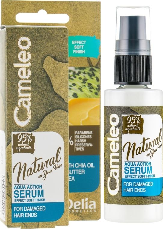 Siero per capelli - Delia Cameleo Natural On Your Hair Aqua Action Serum