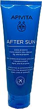 Profumi e cosmetici Gel-crema per viso e corpo dopo sole - Apivita After Sun Cool & Smooth Face & Body Gel-Cream