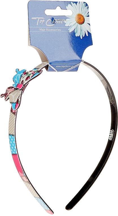 Cerchietto con farfalla, colorato - Top Choice