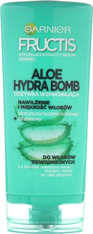 Balsamo idratante per capelli disidratati - Garnier Fructis Aloe Hydra Bomb Hair Conditioner