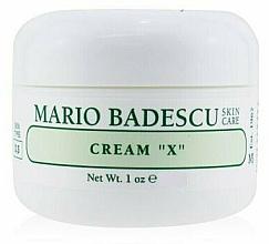 Profumi e cosmetici Crema per pelli grasse - Mario Badescu Cream X