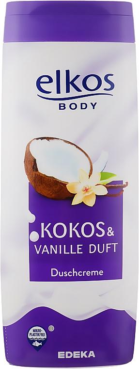 """Crema doccia """"Cocco e Vaniglia"""" - Elkos Coconut & Vanilla Shower Gel"""