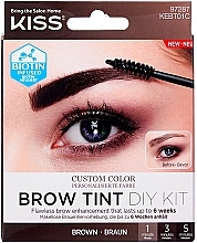Profumi e cosmetici Tinta per sopracciglia - Kiss Brow Tint DIY Kit
