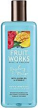 "Profumi e cosmetici Gel doccia ""Lampone e Mango"" - Grace Cole Fruit Works Raspberry & Mango"