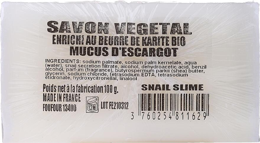 Sapone di Marsiglia alla bava di lumaca - Foufour Savon au Mucus D'escargot