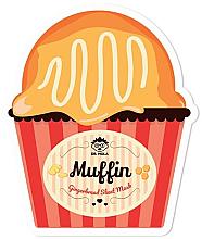 Profumi e cosmetici Maschera viso in tessuto - Dr. Mola Muffin Gingerbread Sheet Mask